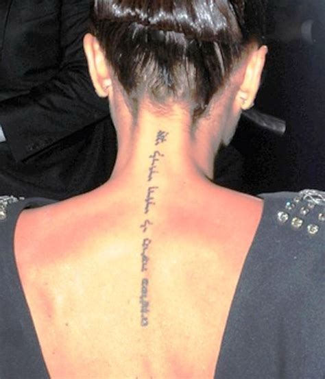 beckham kanji tattoo meaning victoria beckham s 5 tattoos their meanings body art guru