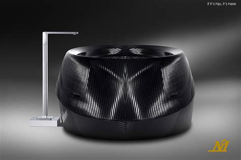 fiber bathtub corpo celeste limited edition luxury carbon fiber bathtub