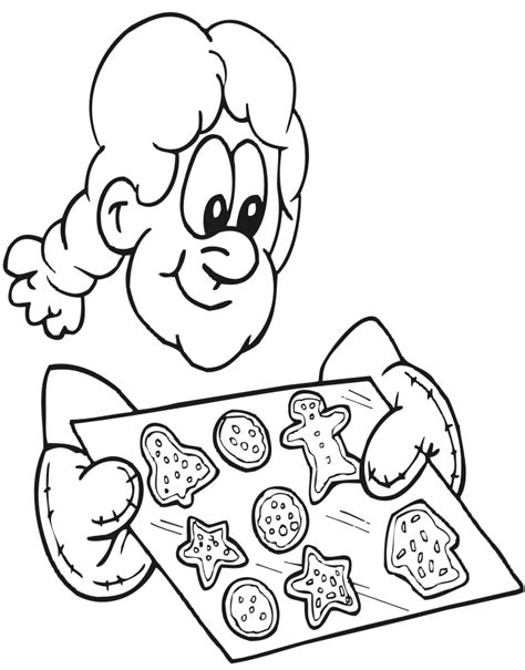 Cookie Coloring Pages To Print Coloring Home Cookies Coloring Pages