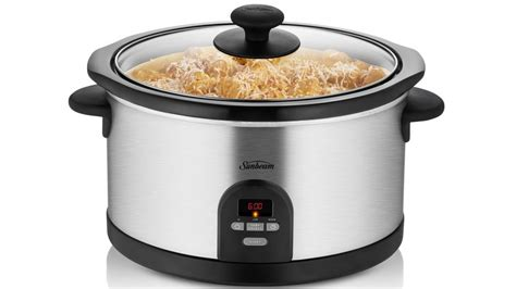 sunbeam kitchen appliances sunbeam digital slow cooker cooking appliances small