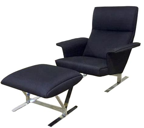 modern chair with ottoman danish modern lounge chair ottoman modernism