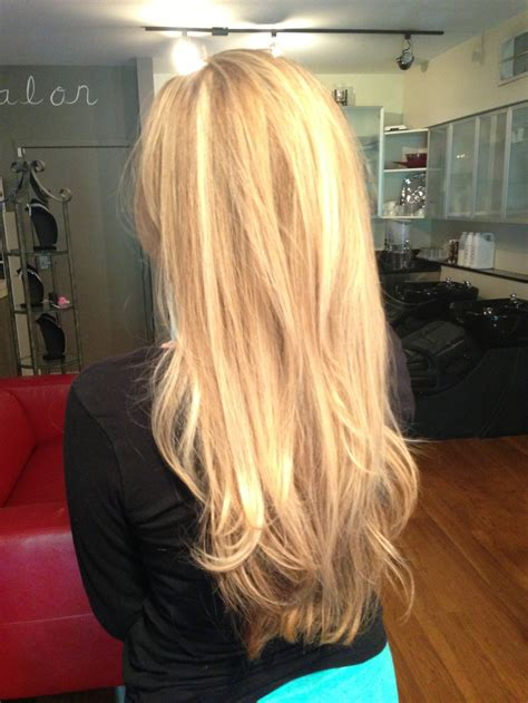 best stylist for long layers in dc gorgeous natural looking multi toned blonde highlights