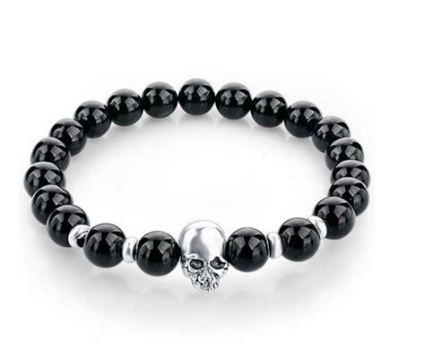 Skull Bracelet smooth skull bracelet bellechic