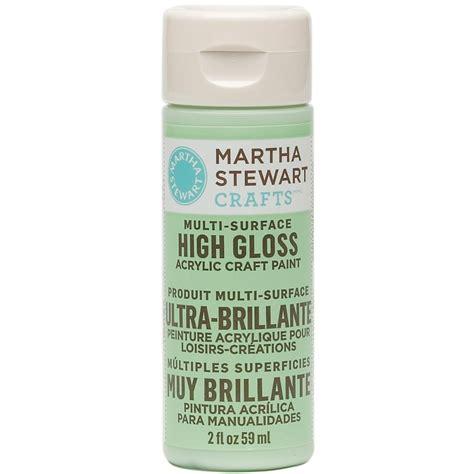 acrylic painting gloss martha stewart high gloss acrylic craft paint 60ml brand