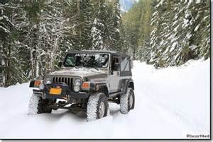 Jeep In Snow Jeep