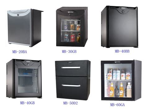 Hotel Mini Bar Cabinet Black Door Absorption Minibar For Hotel Room Refrigerator Freezer Mini Bar Fridge Silent Hotel