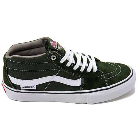 Sepatu Vans Anti Zero vans anti x vans sk8 mid pro shoes in stock at spot skate shop