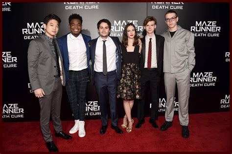 actor maze runner the death cure the cast of maze runner the death cure premiere final