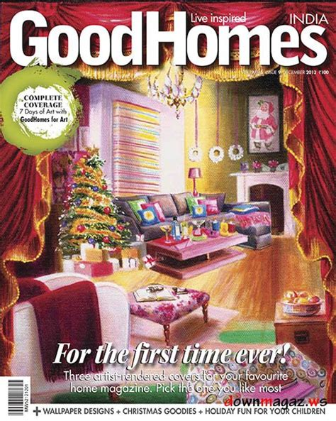 good home design magazines good homes india december 2012 187 download pdf magazines