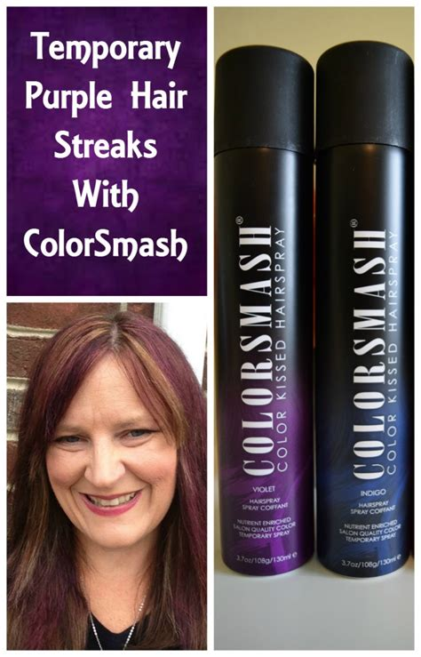 purple temporary hair color times with colorsmash temporary hair color