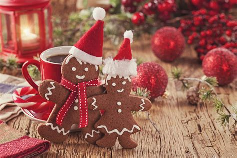 wallpaper christmas food wallpapers new year winter hat food cookies pastry 5616x3744