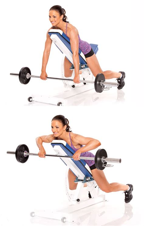 incline bench row redefine your upper body