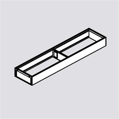 narrow drawer slides blum legrabox ambia line narrow utensil insert 22 quot orion