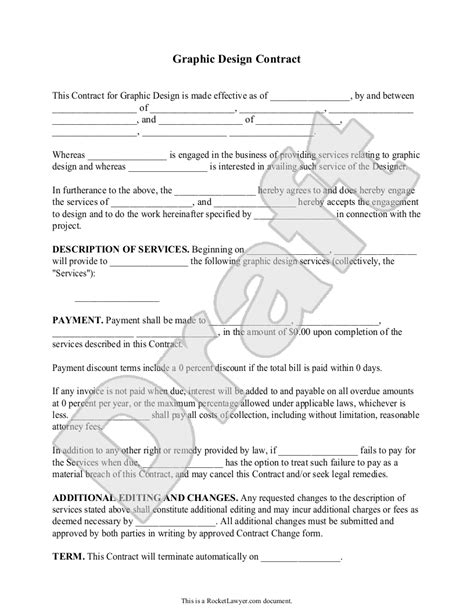 Logo Contract Agreement Template Templates Data Logo Contract Agreement Template