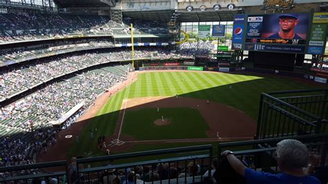 Miller Park Family Section by Miller Park Section 417 Rateyourseats