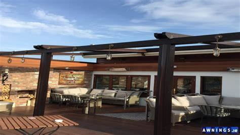 awnings ie retractable all year round roof awnings