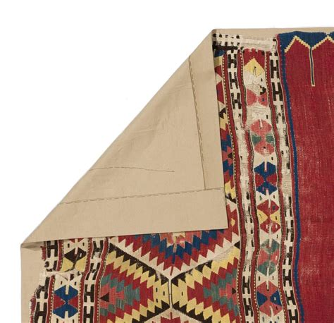 how to create a simple 18th century pouf american duchess 18th century ottoman fethiye kilim for sale at 1stdibs