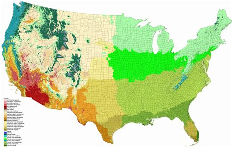 climate maps usa with all this talk of the humid subtropical zone in the u