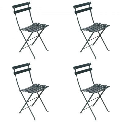 free shipping folding chairs fermob bistro classic folding chairs set of 4 free