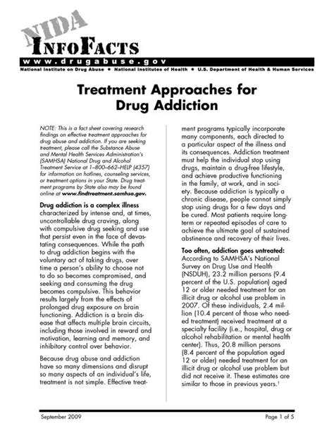 Detox Handout by Relapse Prevention Addiction And Relapse On