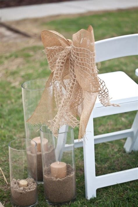Burlap Decor by 10 Ways To Use Burlap At Your Wedding Rustic Wedding Chic