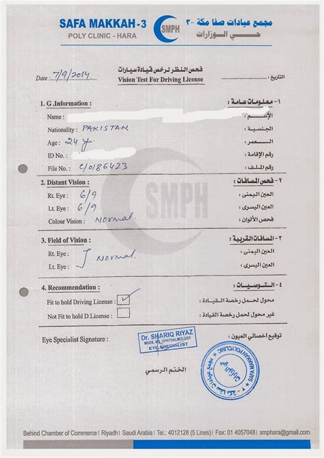 Expats In Saudi Arabia How To Get Driving License In Saudi Arabia Driver License Translation Template