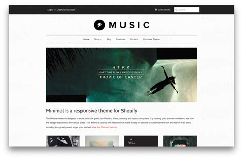 shopify themes music 5 best free shopify themes in the theme store we make
