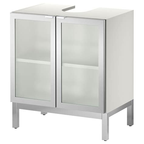 ikea sink storage lill 197 ngen sink base cabinet with 2 door aluminum ikea
