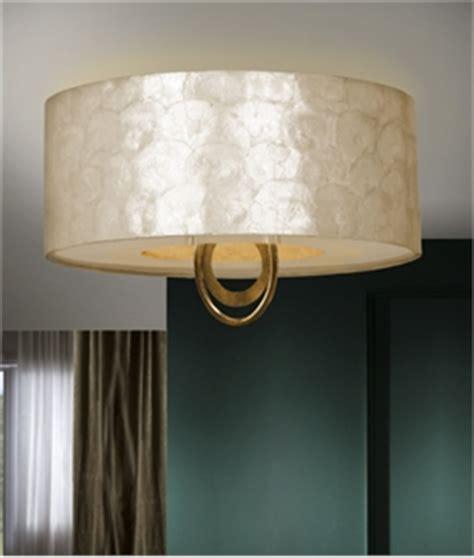 Flush Mounted Drum Pendants Lighting Styles Of Pearl Light Fixtures