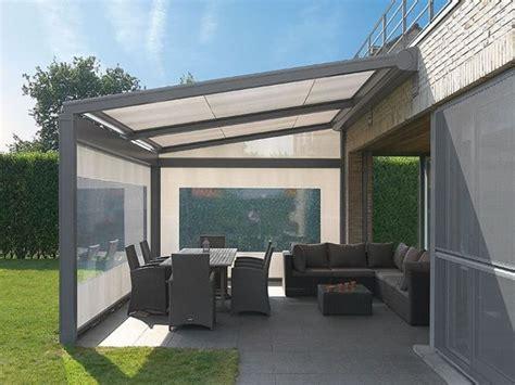 tettoia acciaio tettoie per terrazzi pergole e tettoie da giardino