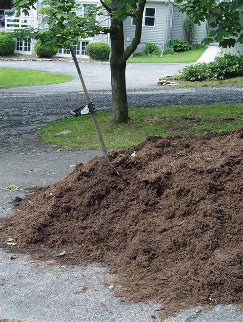 cheap mulch garden housecalls