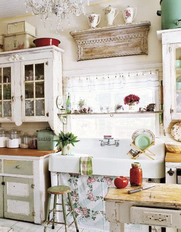 retro style kitchen cabinets 12 shabby chic kitchen ideas decor and furniture for