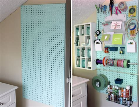 70 Resourceful Ways To Decorate With Pegboards And Other | 70 resourceful ways to decorate with pegboards and other