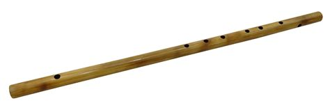 Handmade Flutes - traditional musical instrument brown handmade big bamboo