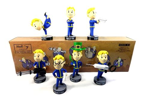 bobblehead collections review new photos gaming heads fallout 3 vault tec vault