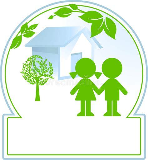 clipart bambini madre natura e bambini illustrazione vettoriale