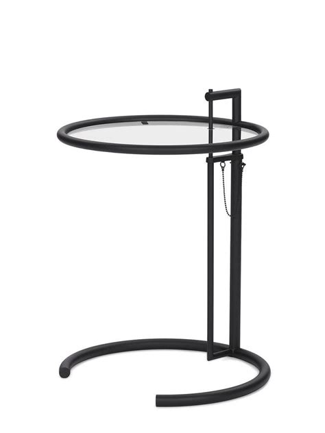 eileen grey adjustable table classicon adjustable table e 1027 black version by eileen
