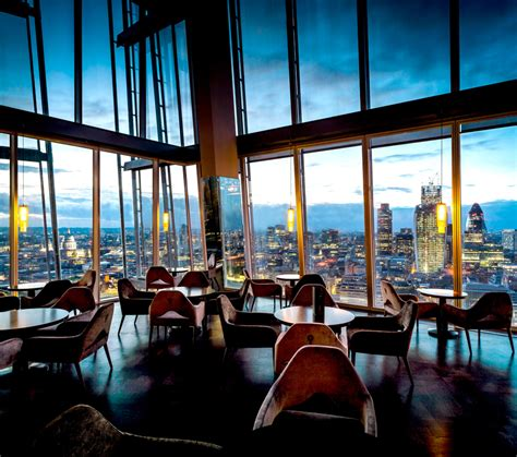 Aqua Shard Dining Room dining rooms with a view aqua shard and hutong