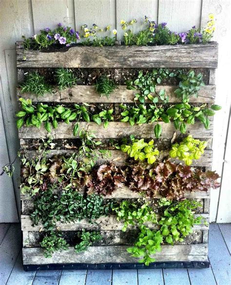 Best Diy Pallet Wall Planter Vertical Gardening Wall Diy Vertical Garden Wall