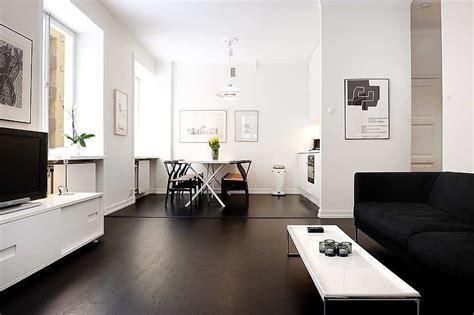 departamento moderno de  metros ambientado en blanco  negro