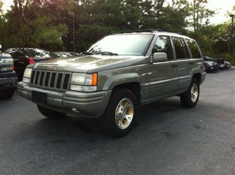 1996 Jeep Grand Limited Buy Used 1996 Jeep Grand Limited 4wd Leather