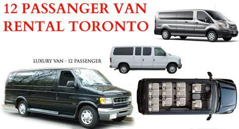 passenger van rental toronto holiday car rentals    passenger van  seater van