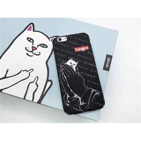 Supreme Iphone 6 Iphone 6s supreme gato funda protectora para iphone 6s 6 plus