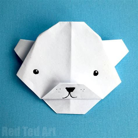 Origami Polar - 10 polar crafts for tip junkie