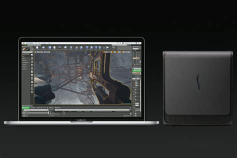 apple gpu apple to support external graphics card enclosures on