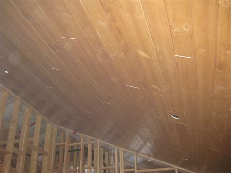 V Joint Pine Ceiling our muskoka update 187 2009 187 january