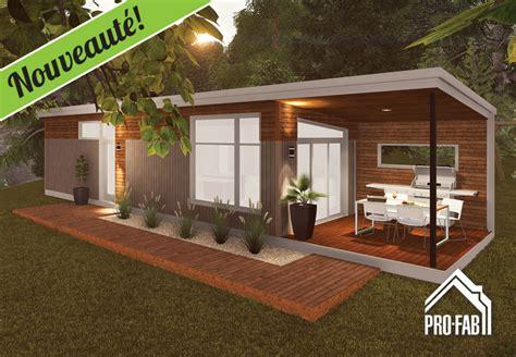 Chalet Style by Pro Fab Constructeur De Maisons Modulaires Usin 233 Es