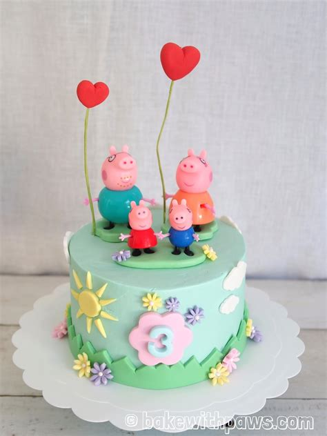 Bake Birthday Cake by Bake With Paws Peppa Pig Birthday Cake Creative Ideas