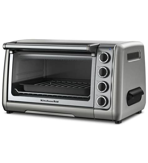 Kitchenaid Countertop Stove by 10 Quot Countertop Oven Kco111cu Contour Silver