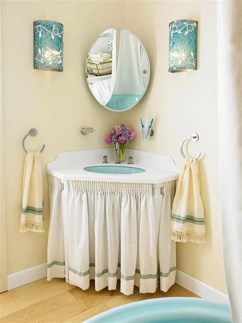 under bathroom sink curtain 1000 ideas about bathroom sink skirt on pinterest